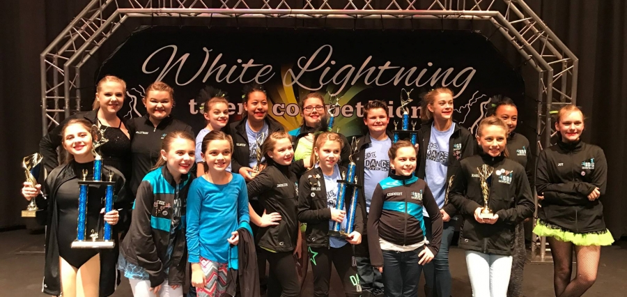 Givens Dance Studio outstanding in competition