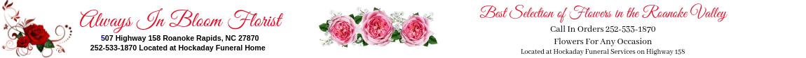 Always in Bloom Florists Best Selection