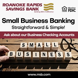 Roanoke Rapids Savings Bank RRSB Small Business