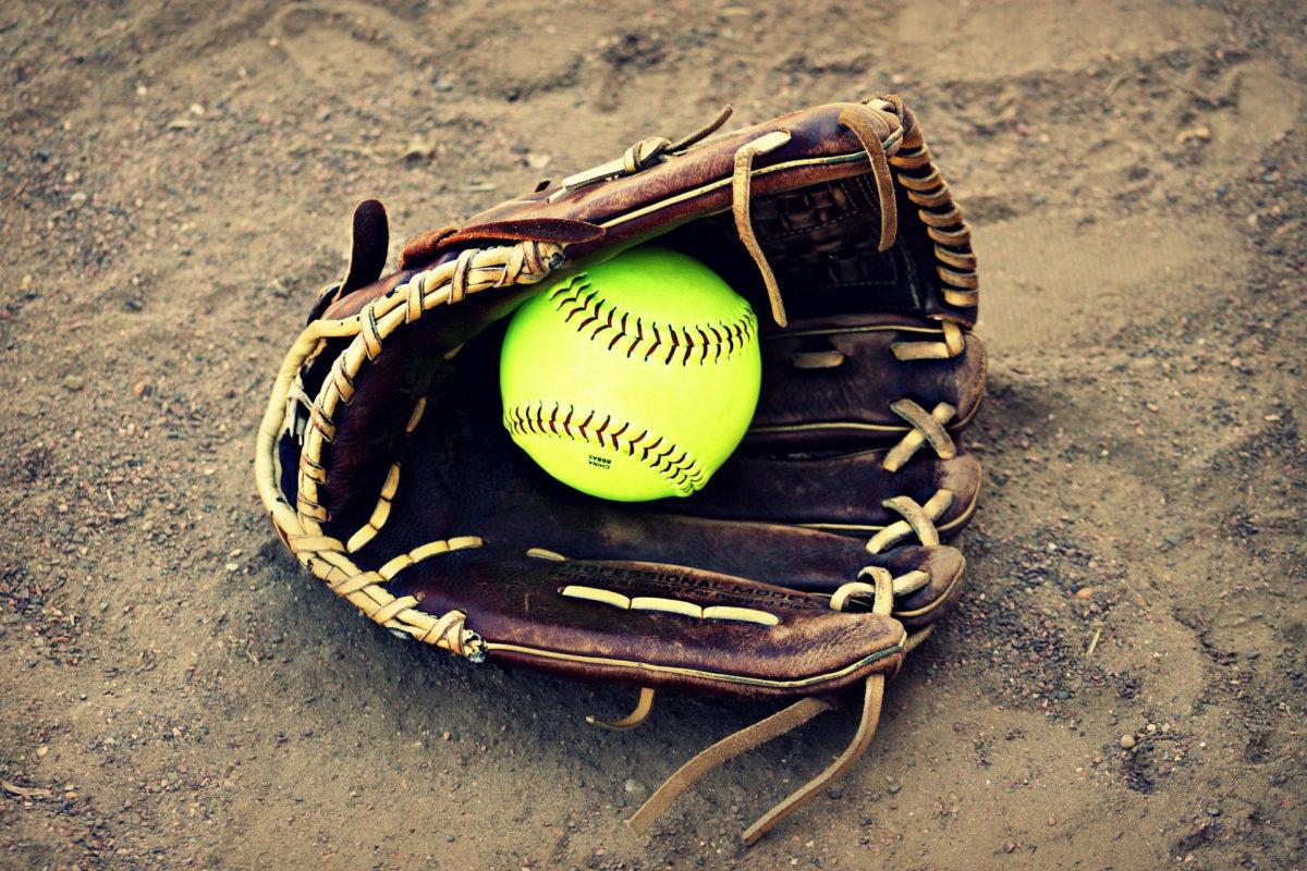 RRSpin - Nash County Diamondbacks 12U travel softball team holding