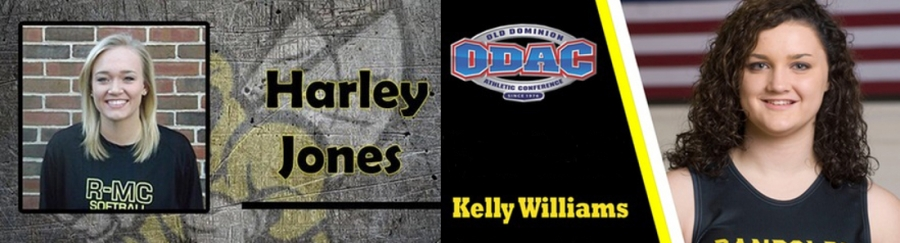 Jones and Williams named ODAC All-Academic team
