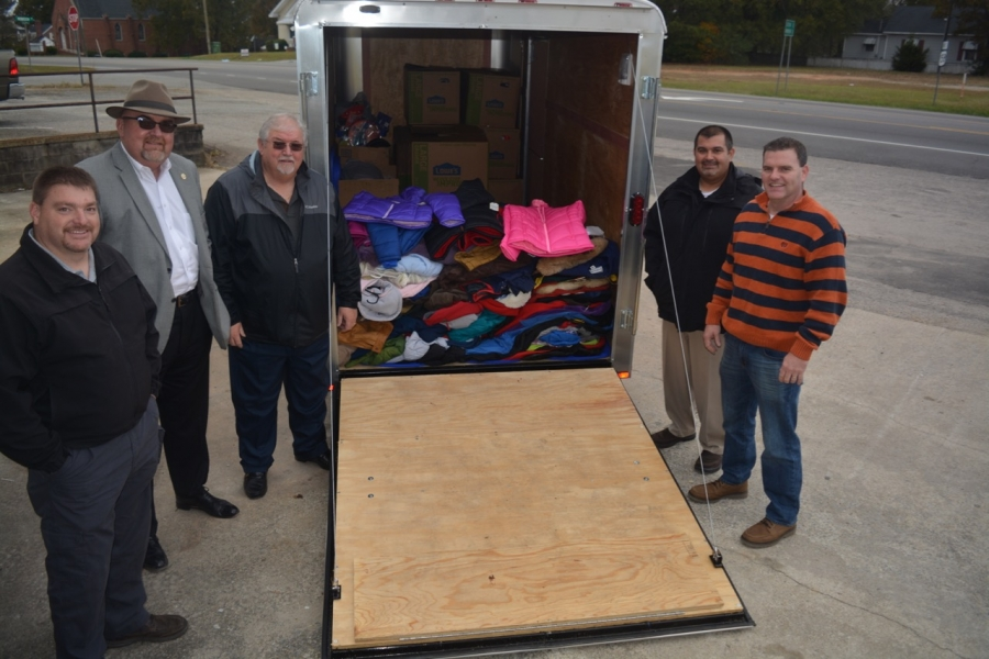 Rrspin First Wave Of Coats From Deputy Drive Comes To Angel S Closet